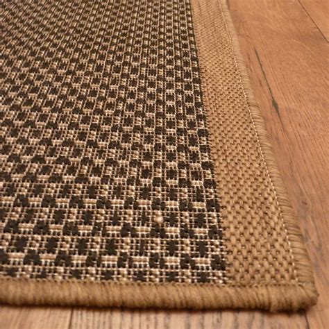 gingham rug brown runner rug gingham carpet runners uk