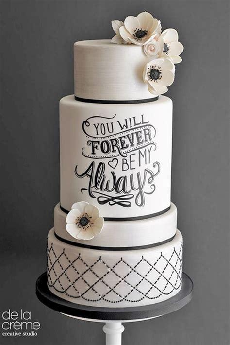 White And Black Wedding Cakes by Best 25 White Wedding Cakes Ideas On White