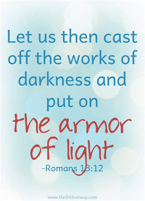 The Armor Of Light by Devotional Archives The Littlest Way
