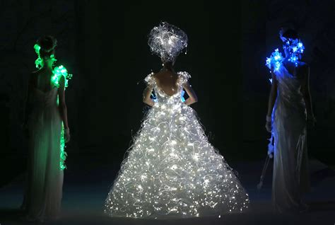 Dress That Lights Up by Photos South China Morning Post