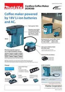 new products makita corporation