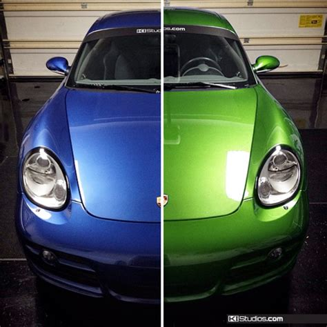 color changing vinyl wrap ki studios san diego car wraps san diego vehicle wraps