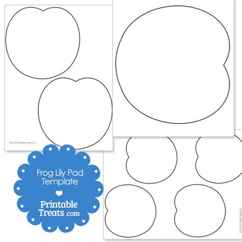 Printable Pad Template printable frog pad template printable treats