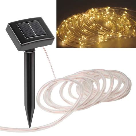 solar powered led strip lights outdoor solar light strips solar lights blackhydraarmouries