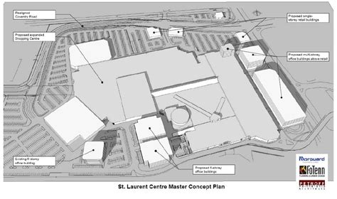 st laurent shopping centre floor plan st laurent shopping centre expansion skyscraperpage forum