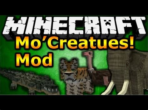 mo downloads minecraft mods mo creatures mod review mod showcase