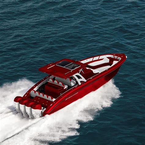 intrepid express boats candy red midnight express 43 open and quads yachts