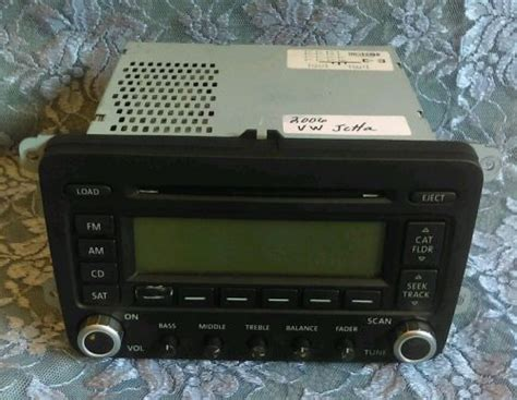 sell  vw volkswagen oem jetta original car radio stereo  disc cd player changer motorcycle