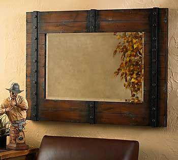 rustic mirrors home decor unique rustic mirrors decor for better home comfort