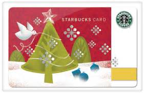 Starbucks Christmas Gift Cards 2013 - bacon chocolate coffee hashtag clothes hashchat prizes the hashtracking blog