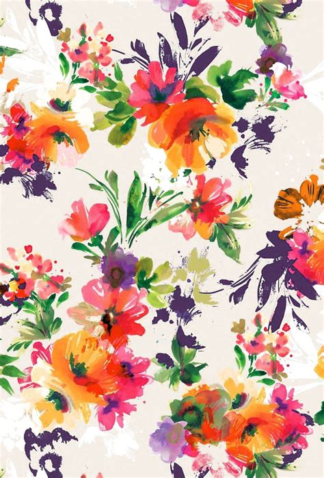 Repeat Trend Florals by Painted Flowers 183 166 Pattern Play Summer