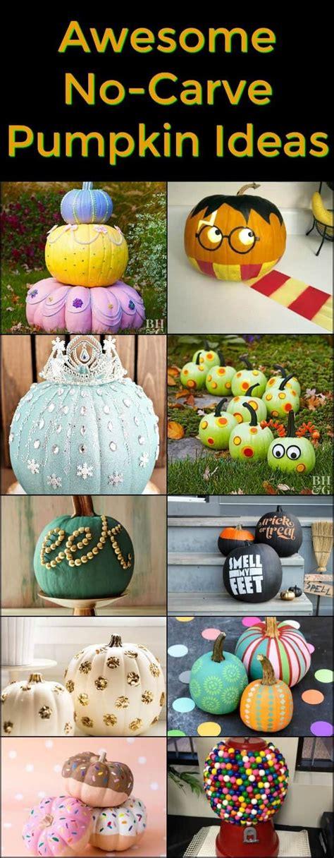 awesome  carve pumpkin ideas   fun pumpkin ideas