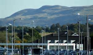 Car Rental Airport Edinburgh Edinburgh Airport Car Hire Centre 169 Nugent Cc By Sa
