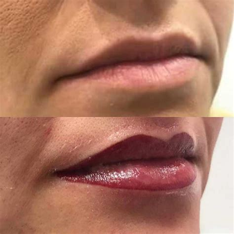 semi permanent lip liner blush medicare cosmetics