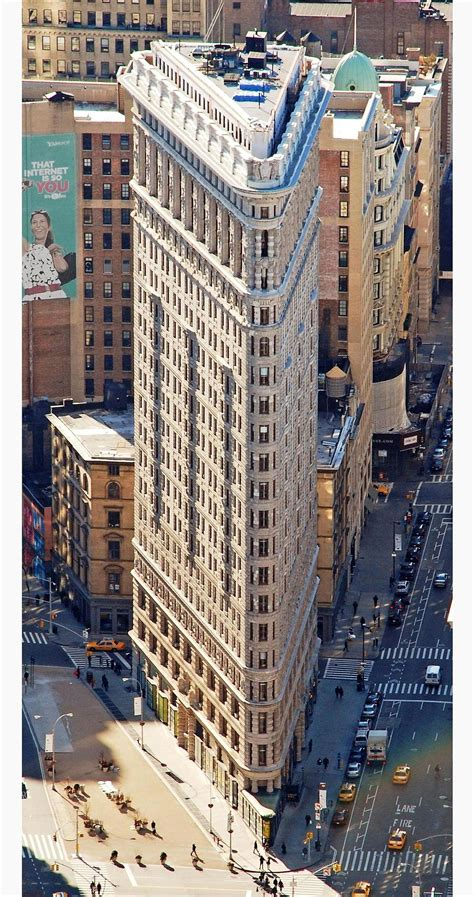 3 New York Fashion Houses On Maps View by Flatiron Building Wikip 233 Dia