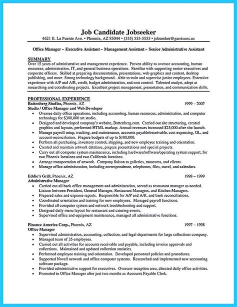 c level executive assistant resume sle xlri resume format 28 images 28 images simple