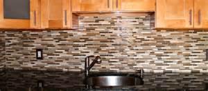 Kitchens With Glass Tile Backsplash stone and glass backsplash new jersey custom tile