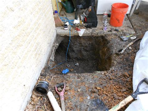 Plumbing Leak Slab by Repairing The Slab Leak Repair Foundation A Homeowner