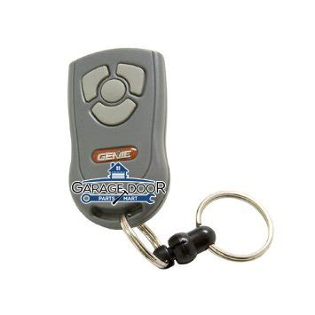Genie Intellicode Mini Keychain Garage Door Opener Remote Garage Door Opener Keychain
