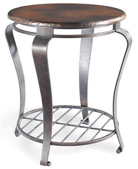 clark copper coffee table clark copper end table