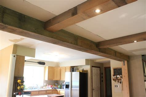 Diy Wood Beam Ceiling by Diy Reclaimed Barn Wood Beams 12 Oaks
