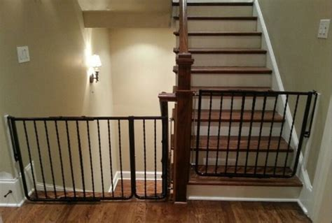 Baby Gate Banister Custom Baby Safety Stair Gate Baby Safe Homes