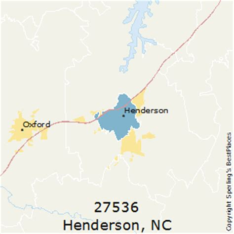 best places to live in henderson (zip 27536), north carolina