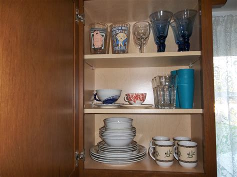 how to organize a kitchen with limited cabinet space the