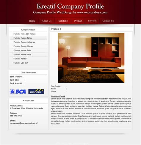 contoh layout web hotel contoh company profile perusahaan jasa hotel this mommas