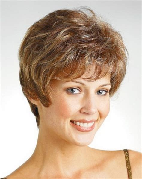 hairstyke middle age blonde short hairstyles for middle aged women