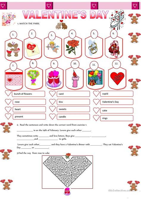 S Day Worksheets