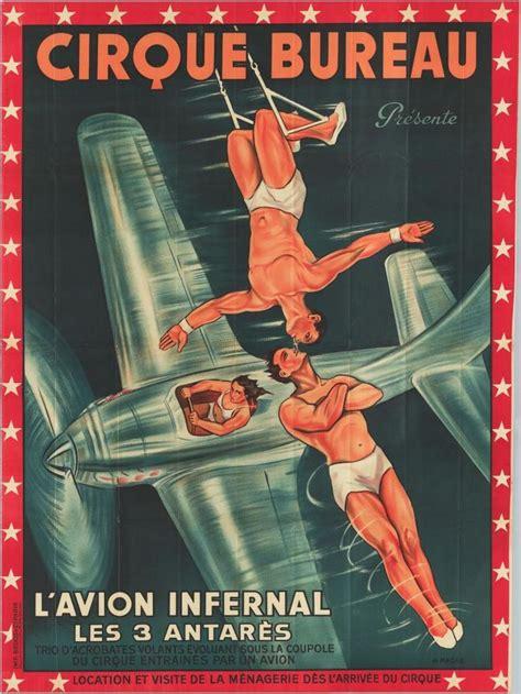 cirque bureau 52 beste afbeeldingen vintage circus posters