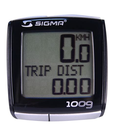 Speedometer Sigma Bc bike computer sigma bc 1009 insportline