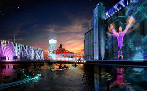light show ny the city of light again buffalo rising
