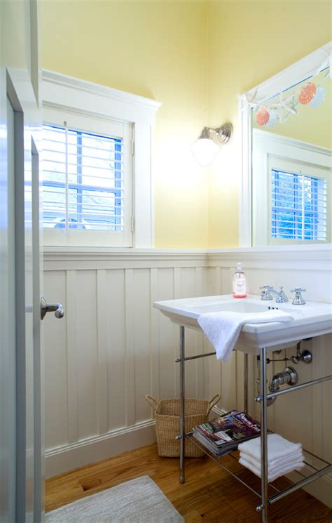 craftsman bathroom remodel board and batten inside and out town country living