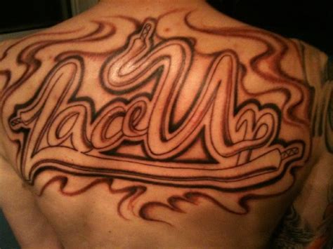 mgk back tattoo lace up mac miller mgk ideas