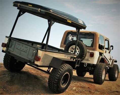 jeep offroad trailer 4x4 off road trailer black scorpion off road bigfoot
