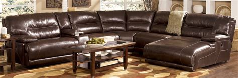 Leather Reclining Sectional With Chaise Lounge Leather Reclining Sectional Sofa With Chaise Cleanupflorida