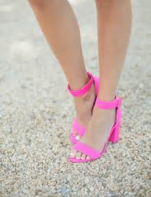 25 best ideas about pink strappy heels on