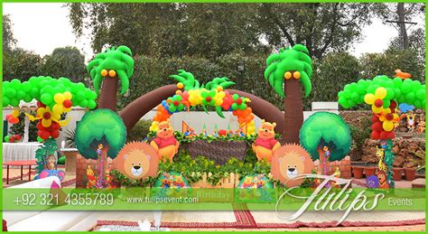 zoo themed decorations jungle zoo theme decoration ideas in pakistan