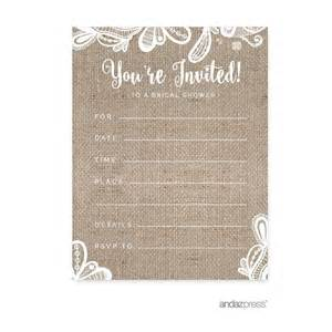 top 10 best bridal shower invitations