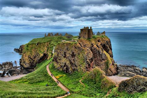 Landscape Pictures Scotland Scottish Landscape Dunnotar Castle In Stonehaven