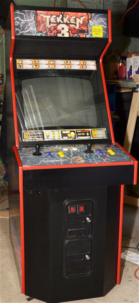 Tekken 3 Arcade Cabinet by Midway To Mame Cabinet Conversion
