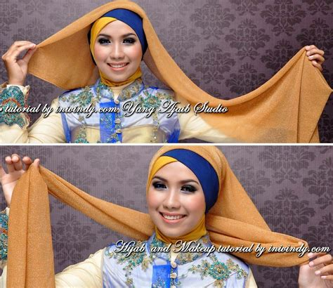 tutorial hijab turban pashmina gliter segiempat hijab tutorial for summer hijabiworld
