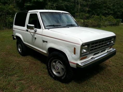 airbag deployment 1986 ford bronco ii transmission control service manual 1986 ford bronco ii and maintenance manual free pdf 1983 1984 1990 1991 1992