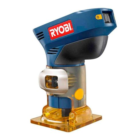 ryobi routers 18 volt one trim router tool only p600