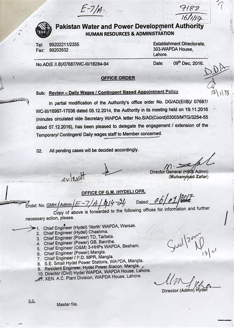 appointment letter daily wages review daily wages contingent based appointment policy