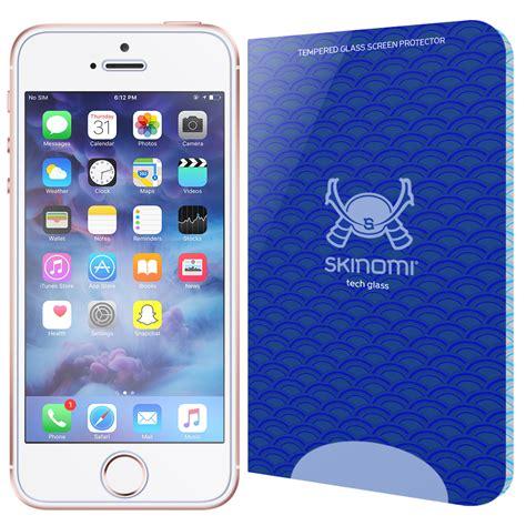 skinomi tech glass apple iphone sescse se