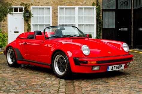 1989 porsche speedster for sale 1989 porsche 911 speedster 6 6speedonline