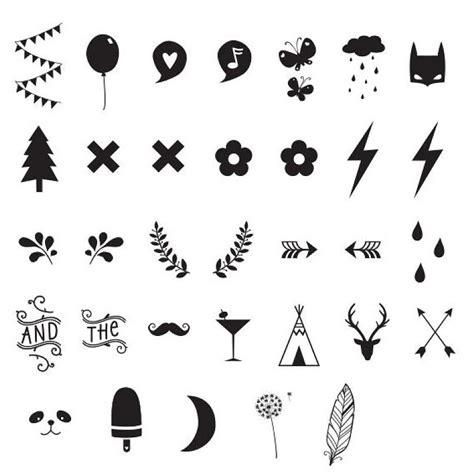 imagenes con simbolos groseros set de s 237 mbolos y n 250 meros para el lightbox a little